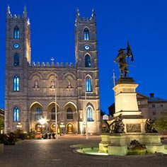 10 Must-See Sites in Montreal and Quebec City | Reader's Digest.  This is Basilique Notre Dame. SS.
