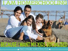 I Homeschooling Because I Want My Kids Socialized #homeschool Tina Robertson -