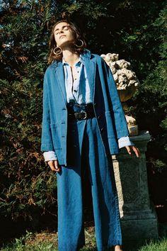 Mara Hoffman Resort 2019 Fashion Show Collection: See the complete Mara Hoffman Resort 2019 collection. Look 19 80s Fashion, Denim Fashion, Couture Fashion, Fashion News, Fashion Brands, Fashion Outfits, Mara Hoffman, Max Mara, Fendi