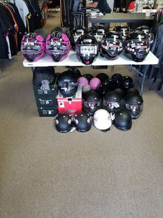 Strong clasps and straps need to be connected to the helmet at a min. Also better are double ring fasteners that loop through each ring. Motorcycle Outfit, Motorcycle Helmets, Novelty Helmets, Double Ring, Fasteners, Houston, Baby Strollers, Biker, Strong