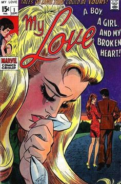 Forget Gwen Stacy and Mary Jane Watson! Stan Lee and John Romita collaborate on some groovy chicks whose groove is distracted by heartbreak!