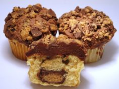 REESE'S® Peanut Butter Cups® Cupcakes