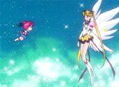 Sailor Stars Episode 187  The Power of Shining Stars! Chibi Chibi's Transformation