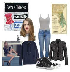 """""""Margo Roth Spiegelman Paper Towns"""" by seetherfan17 ❤ liked on Polyvore featuring BKE, Current/Elliott, Woolrich, maurices, Converse and Victoria's Secret"""