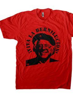 Election 2016 Bernie Sanders Che Guevara Parody Red Adult Sweatshirt
