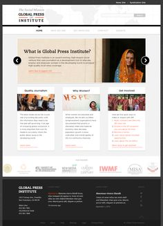 Global Press Institute | Nonprofit Web Design | SPARK Experience