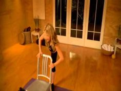 This one was hard to do but definitely works the muscles!!   Tracy Anderson p.2.1 legs.wmv