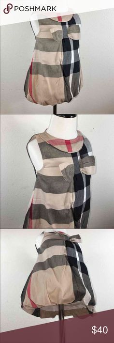 Spotted while shopping on Poshmark: Girls Burberry bubble dress! #poshmark #fashion #shopping #style #Other