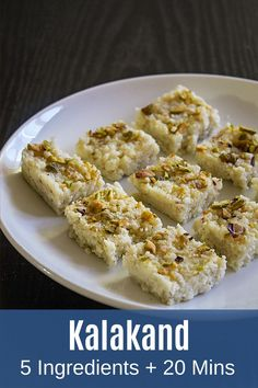 This is really the best kalakand sweet you'll ever taste! This quick and easy kalakand recipe requires only two ingredients. This kalakand recipe is made with milk and sugar. It has a moist, crumbly and grainy texture with a sweet milky taste. This is neither the traditional method nor the instant method. The recipe method I am sharing will come in between both. But the taste of it is very very close to the traditional version. #kalakand #indiansweets #desserts #diwalisweets Kalakand Recipe, Sweet Spice, Indian Sweets, Ethnic Food, Dessert Recipes, Desserts, Something Sweet, Quick Meals, Spice Things Up