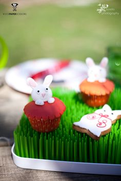 Bunny treats at a Easter Party #easterparty #bunny