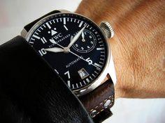 IWC Big Pilot Iwc, Omega Watch, Pilot, Watches, Accessories, Products, Wristwatches, Pilots, Clocks