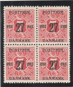Denmark  Catalogue (AFA) Number 87 - Mint  Value Dkk. 200