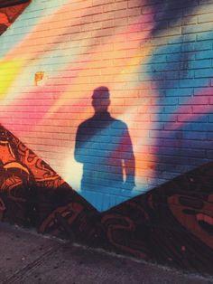 Rainbow wall   VSCO Cam