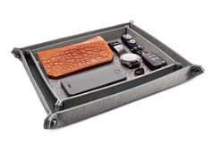 Parabellum Collapsible Bison Hide Valet Tray