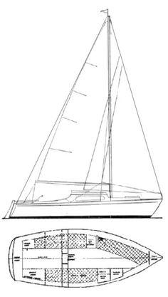 Hake Yachts Vintage Models: The Seaward Fox Cat Rig with