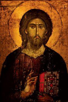 ИКОНАХристос Сведржитељ, 60-е године XIII века, Манастир Хиландар, Света Гора