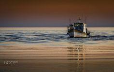The returning of Fisherman. by Panagiotis Bouras My Photos, Mosaic, In This Moment, Mosaics, Mosaic Art