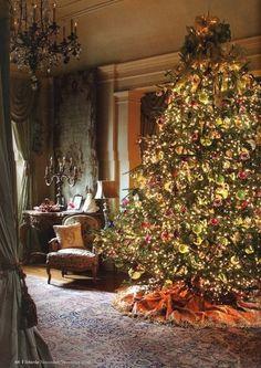 victorian christmas decorations | Vintage Victorian Christmas decor | Christmas Trees