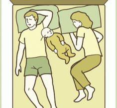 These 10 Co-Sleeping Positions Had Me Dying Laughing (my son and daughter-in-law have experience with all of 'em!)