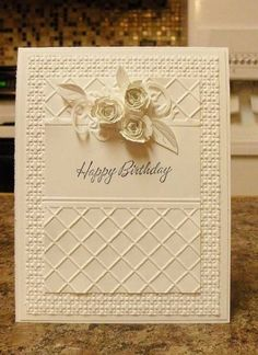 JUGS157 - White Birthday by nwilliams6 - Cards and Paper Crafts at Splitcoaststampers