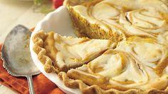 pumpkin cream cheese pie from pillsbury - simple, straightforward, and seems YUMMY!!