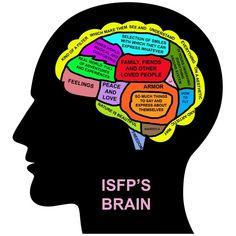 ISFP's brain