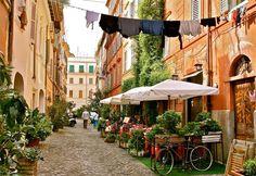 Éttermi szokások Itáliában.