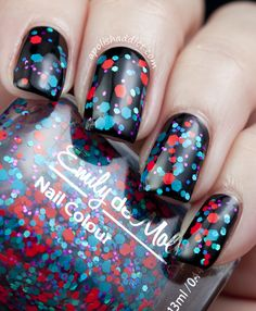 Gah!!  Look at her amazing photos of this nail polish!! More Emily de Molly Swatches | A Polish Addict