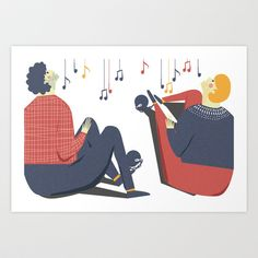 Paul and Silas Singing in Prison (By Alice Potter) Art Print by Old & New Project - $20.00