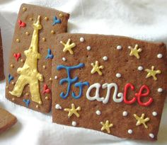 Bastille Day Party Ideas   Bastille Day Desserts   French Cookies