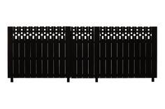 MACKINTOSH  - Silver Beech Trellis Fence Trellis Fence, Fence Gate, Fences, Storage, Silver, Furniture, Den, Home Decor, Unique