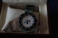 Swatch Flik Flak, FFL007 Spider Man, rare, for collectors