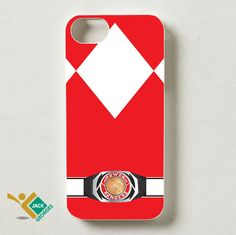 MMPR Red Ranger | Mighty Morphin Power Rangers | iPhone 4 4S 5 5S 5C 6 6+ Case | Samsung Galaxy S3 S4 S5 Cover | HTC Cases - jackandgeorges