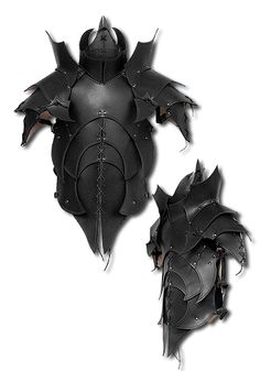 Titans Armour, black - Body Armour - Leather Armour - Armour