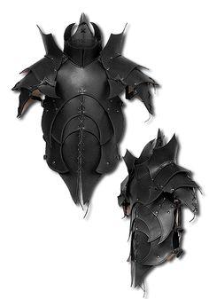 Titans Armour, black - Body Armour - Leather Armour - Armour