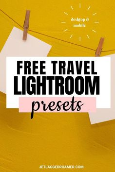 Brighten your photos instantly with these 3 free travel Lightroom presets. Learn how to add your presets in this post with one of the best photo editing apps. You can began editing pictures in seconds with these presets for Lightroom. Desktop and mobile compatible. Best Travel Apps, Free Travel, Travel Hacks, Travel Tips, Good Photo Editing Apps, Travel Essentials For Women, Travel Alone, Editing Pictures, Lightroom Presets