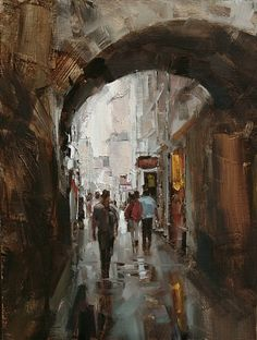 Tibor Nagy - Work Zoom: A Walk in the Rain