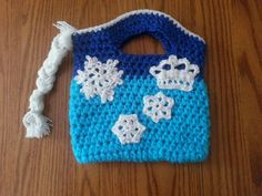 Disney's Frozen Crochet Purse by MemorableKnits on Etsy, $22.00