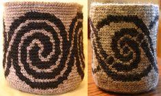 crochet nature motifs - Google Search