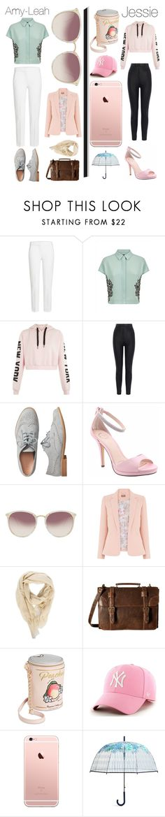 """Untitled #3370"" by llamapoop ❤ liked on Polyvore featuring MaxMara, Jaeger, Karen Millen, Gap, I. MILLER, Linda Farrow, Rick Owens, Scully, Betsey Johnson and Vera Bradley"
