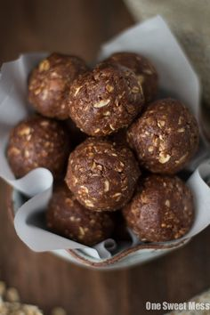 Almond Joy Energy Balls: These energy balls are guilt-free snacking at its best. They're rich in protein, fiber, and omega-3 fatty acids. Gluten-free, vegan, and naturally sweetened.