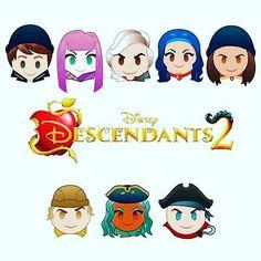 Descendants emoji