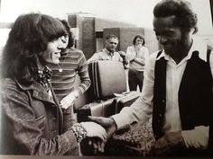 Bill Wyman (stones) and Chuck Berry