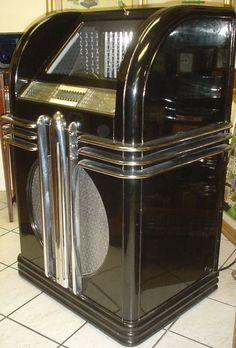 Art Deco jukebox