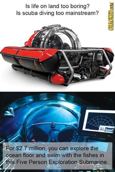 This is exactly what we need for our undersea lair.