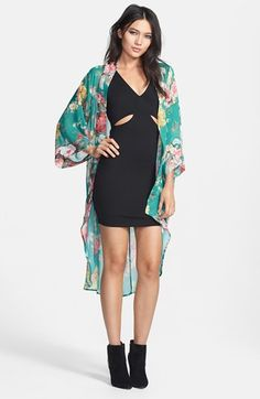 Crash and Burn 'Marie' Floral Chiffon