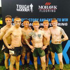 Team Mohawk at Tough Mudder - 2015