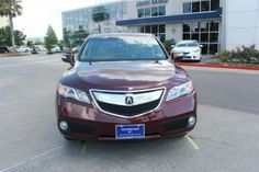 2014 Acura RDX Basew_Tech Base 4dr SUV w/Technology Package SUV 4 Doors Basque Red Pearl Ii for sale in Houston, TX Source: http://www.usedcarsgroup.com/used-acura-for-sale-in-houston-tx