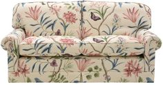 """""""Clementine"""" - Voyages of Discovery fabrics - Sanderson."""