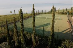 Tennis in Tuscany